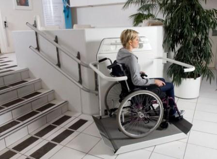 pr parer son installation de plate forme oblique pour handicap en fauteuil roulant. Black Bedroom Furniture Sets. Home Design Ideas