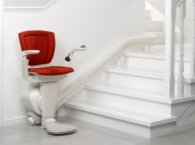 monte escalier pour escaliers courbes. Black Bedroom Furniture Sets. Home Design Ideas