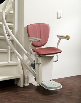 fauteuil monte escalier tournant otolift ascier. Black Bedroom Furniture Sets. Home Design Ideas
